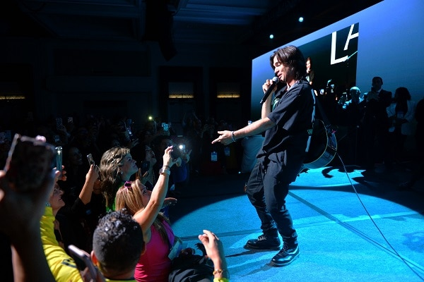 Juanes performs at the 2nd Annual L'Attitude Conference