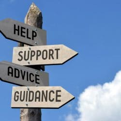 wooden help,support sign, advice, guidance