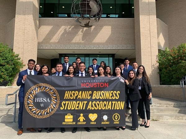 Hispanic Business Student Association Group Photo