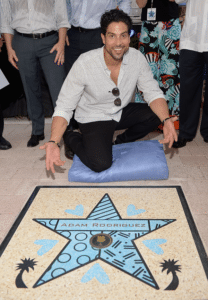 Miami Walk of Fame-Adam Rodriguez