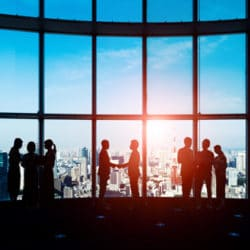 teamwork, office, business, global, city, businessman, management, handshake, human resources, diversity, group, team, people, cooperation, silhouette, lobby, meeting, conference, crowd
