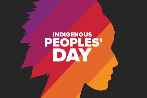 Indigenous Peoples' Day art