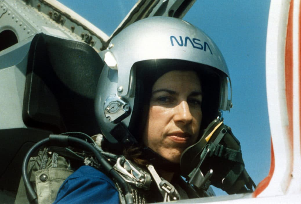 Astronaut Ellen Ochoa training with NASA