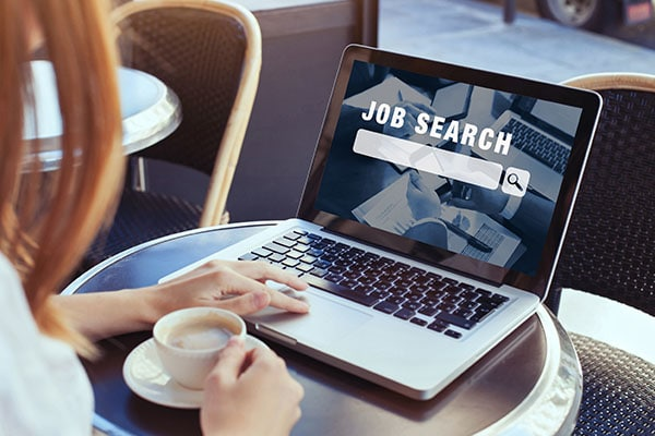 Job Search Laptop