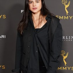 Sasha Calle attends the Television Academy Daytime Programming Cocktail Reception at Television Academy's Wolf Theatre at the Saban Media Center on August 28, 2019 in North Hollywood, California