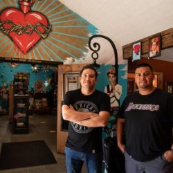 Kulture co-owners Cuahutemoc Vargas and David Garcia, photographed on Tuesday, Aug. 4, 2020, share how they've adapted to keep their business in midtown Sacramento open during the coronavirus pandemic.