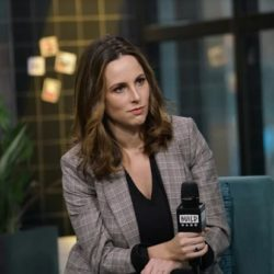 """Alicia Menendez attends Build Series to discuss her book """"The Likeability Trap: How to Break Free and Succeed as You Are"""" at Build Studio on November 18, 2019 in New York City. (Photo by Manny Carabel/Getty Images)"""